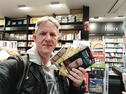 Anfang Dezember 2019 in der Mayersche Buchhandlung in Köln.