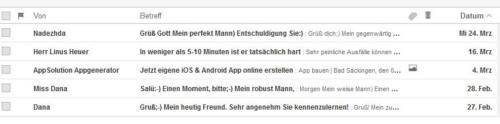 social-bots per E-Mail